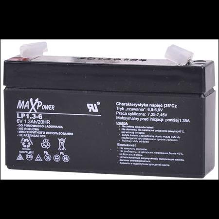ACUMULATOR STATIONAR SLA 6V 1.3AH MAXPOWER MaxPower