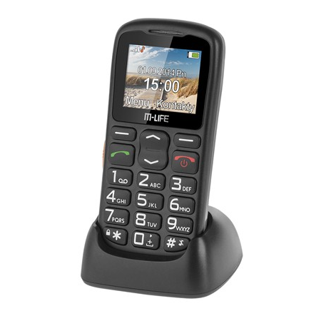 TELEFON GSM SENIOR CU DOCKING M-LIFE M-Life