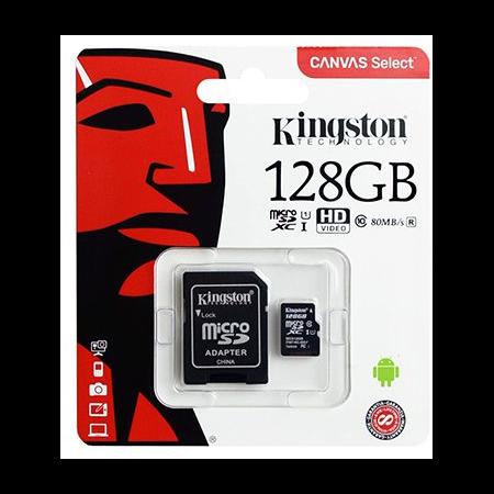 MICRO SD CARD 128GB CLASS 10 KINGSTON Kingston