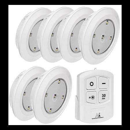 SET 6 LAMPI LED CU TELECOMANDA MCE0165 Cavi