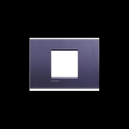 Placa ornament ,2 module, Violet ,living light, BTICINO Bticino