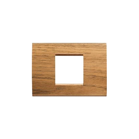Placa ornament ,2 module,Nuc,living light, BTICINO Bticino