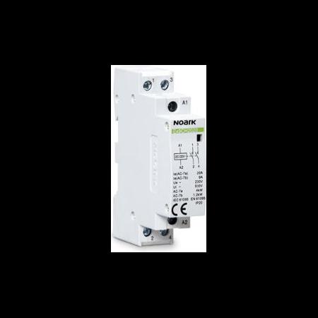 Contactor pentru iluminat  20A 220/230V 2NO - Ex9CH20 20 220/230V 50/60Hz Noark