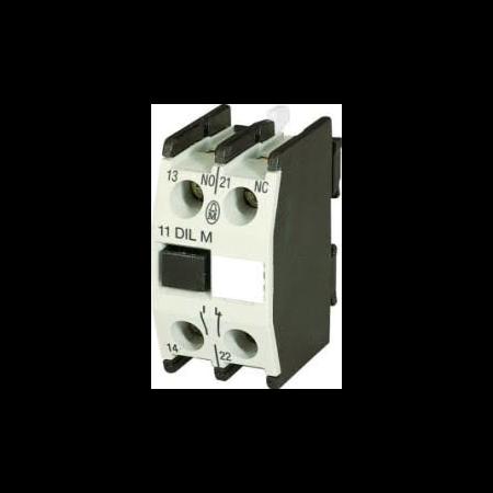 17507 contact auxiliar pentru contactr 1no+1nc Moeller Eaton