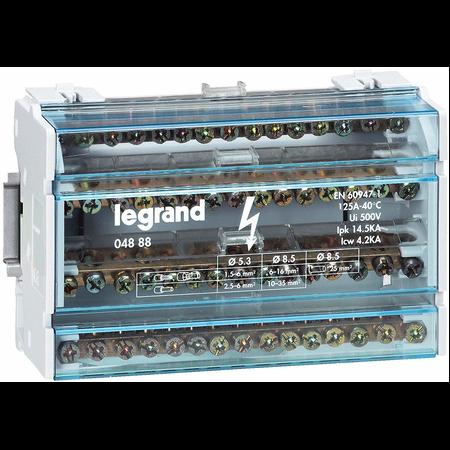 REPARTITOR TETRAPOLAR 100A 4 MODULE Legrand