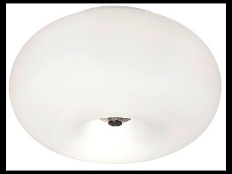 Plafoniere Eglo Led : Corpuri de iluminat u003e plafoniere plafoniera optica 2x60w 28cm eglo