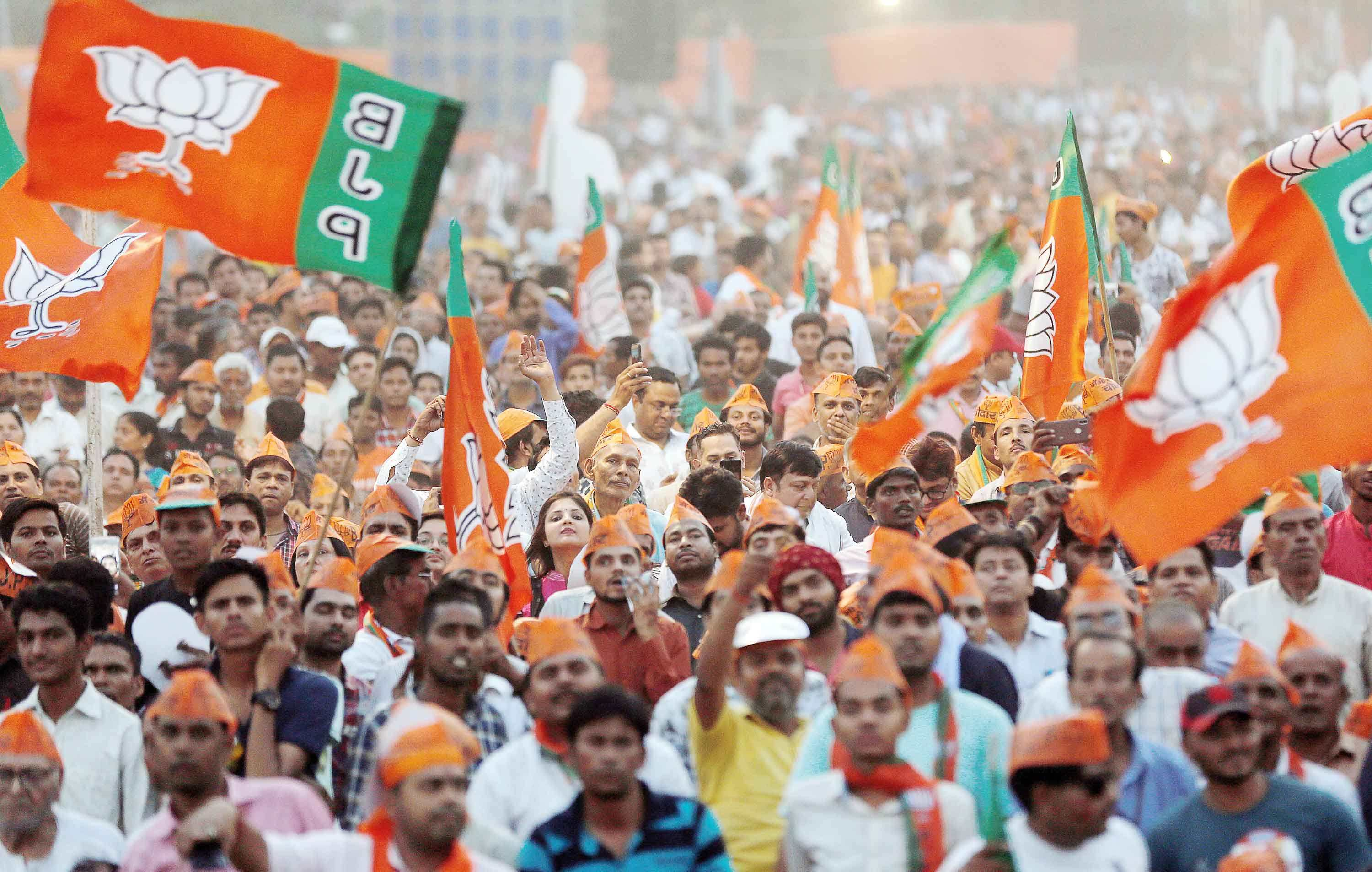 BJP-TMC clash during pro-CAA rally in West Bengal
