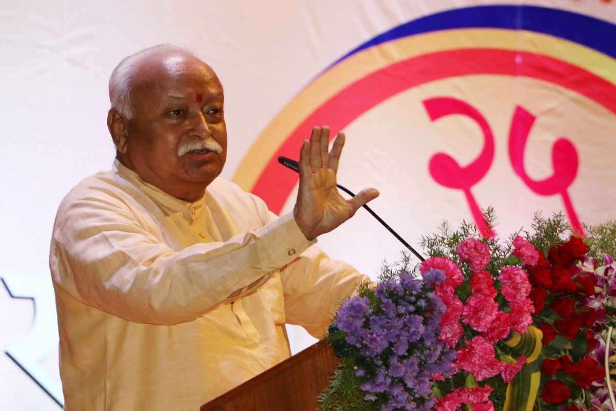 Country belongs to Hindus, says RSS chief Mohan Bhagwat