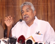 Former Kerala Chief Minister Oommen Chandy