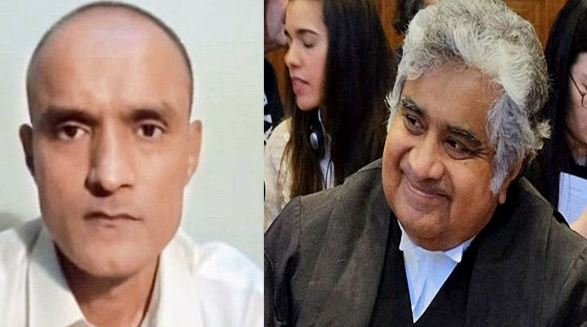 Kulbhushan Jadhav and Harish Salve