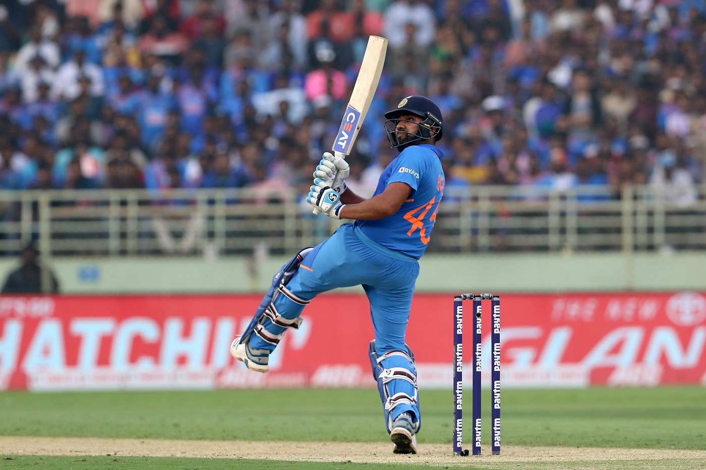 On days like this, if it comes off, it looks good Rohit Sharma