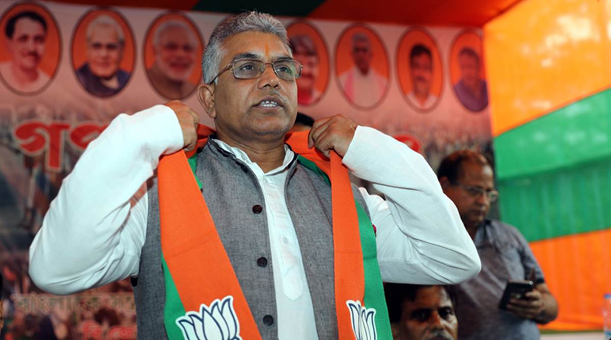 Police complaint lodged against Dilip Ghosh