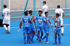 The Indian men's hockey team avenged their round robin league-stage loss as they thrashed New Zealand 5-0 in the final to win the Olympic Test Event at the Oi Stadium on Wednesday.