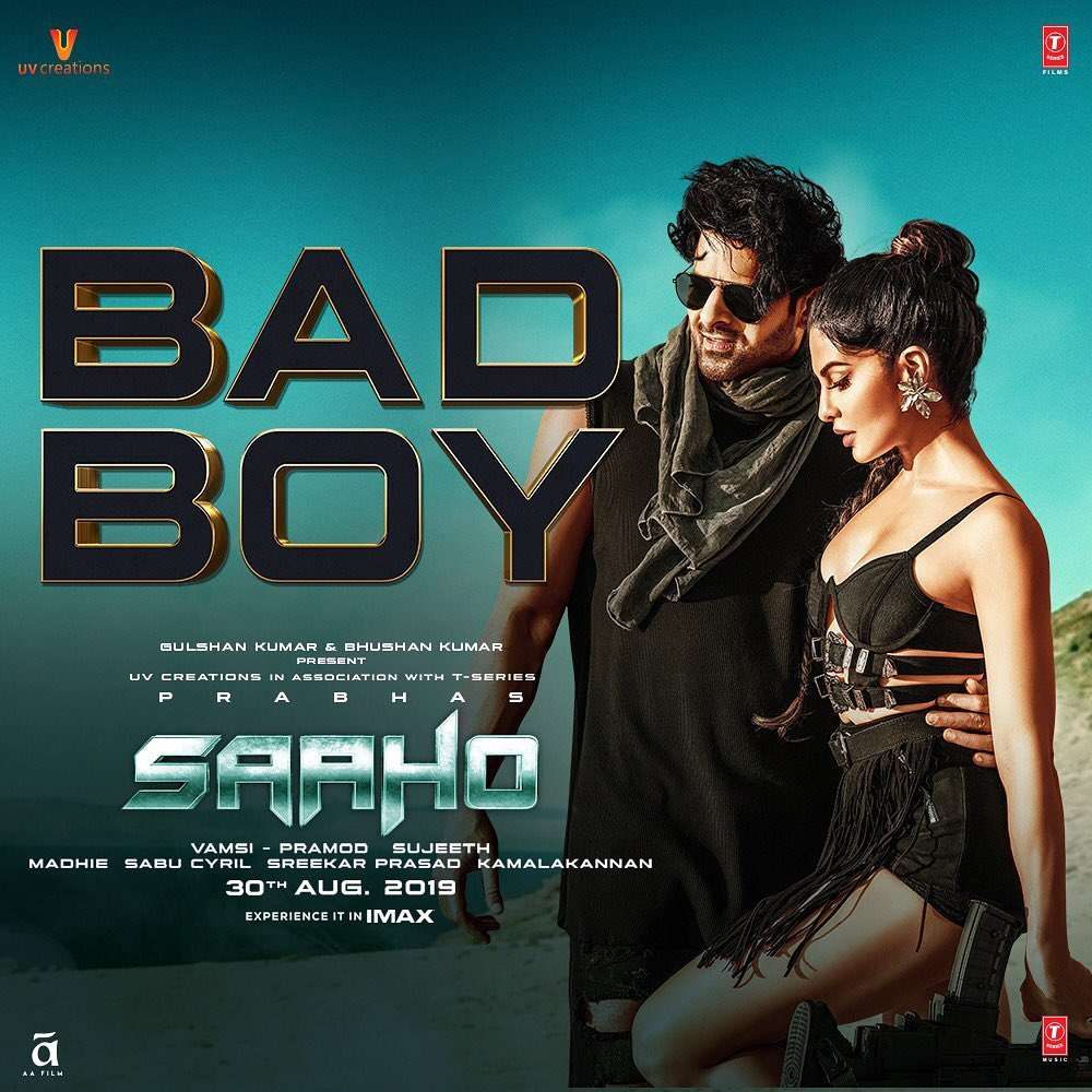 Saaho song 'Bad Boy' out: Prabhas and Jacqueline sizzle