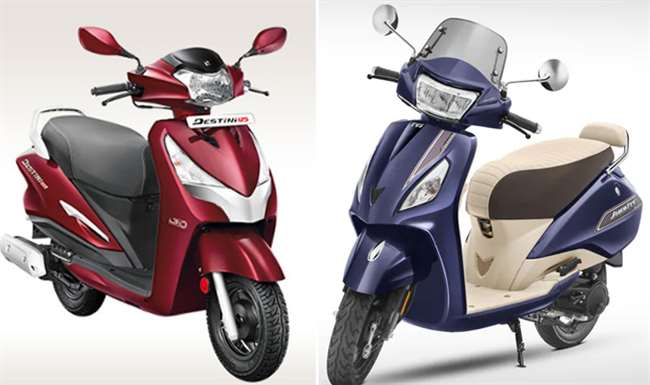 Hero Destini 125 BS6 Scooter launched in India, starting price Rs 64,310