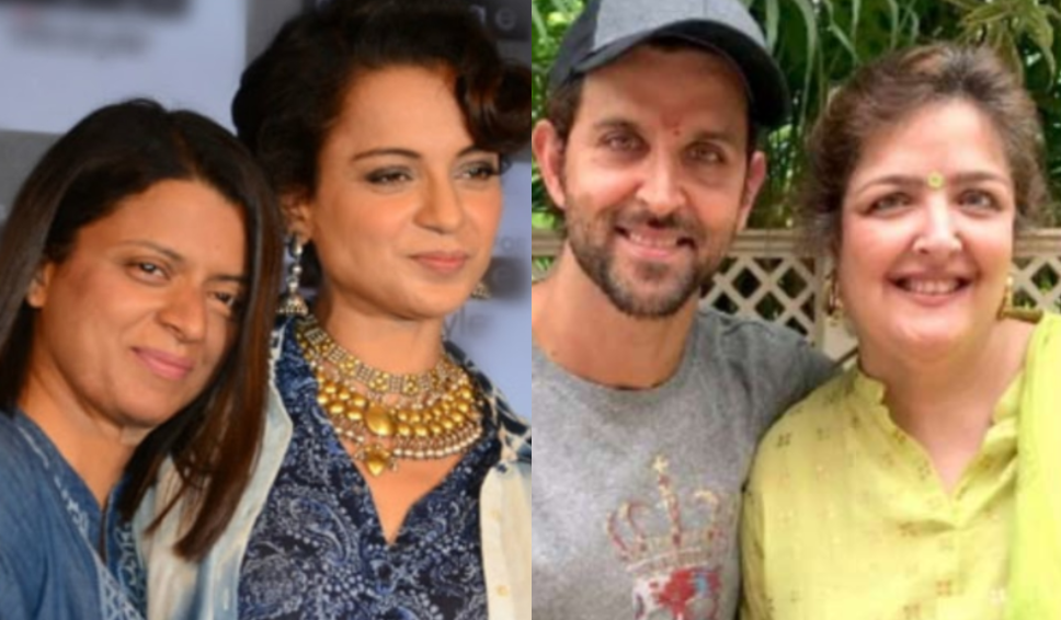 Kangana's sister Rangoli claims Roshan's are assaulting Sunaina as she is in love with a Muslim guy