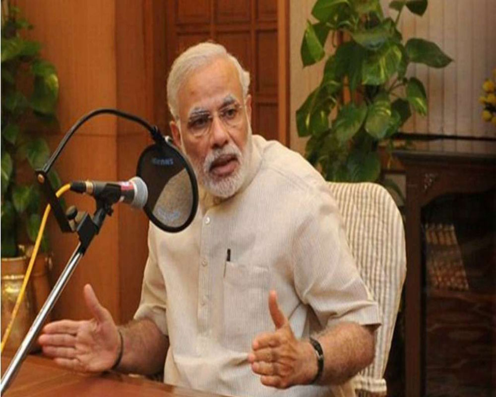 Prime Minister Narendra Modi addressed the nation in his programme 'Mann Ki Baat' on the occasion of Republic Day on Sunday.