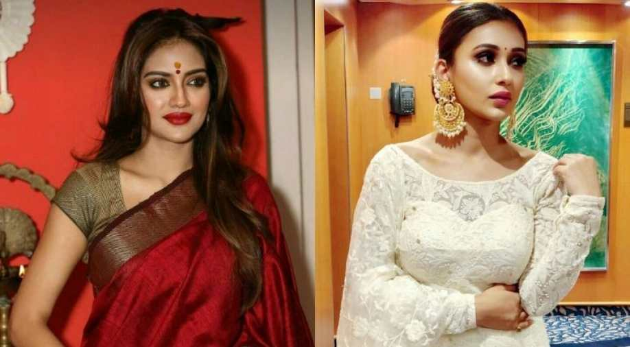 Nusrat trolled for sporting saree, sindoor...Mimi supports her 's lifestyle choices