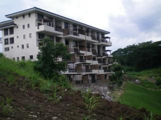 side view of main building