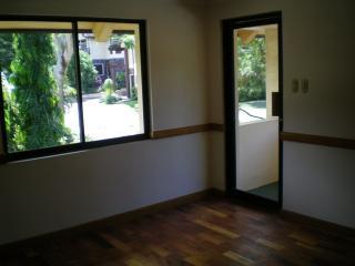 master bedroom showing veranda door