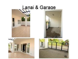 LANAI & GARAGE