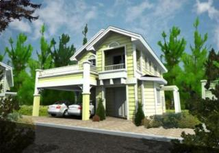 Ruby Model-2 storey single dettached house with 3 br, 3 cr, maidsroom, carport, 171sqm flr area 150 sqm lot area