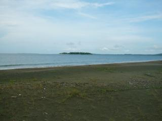 Beach Front with island View