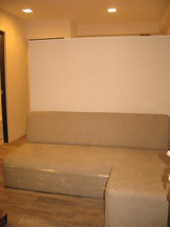 3-seater sofa with ottoman