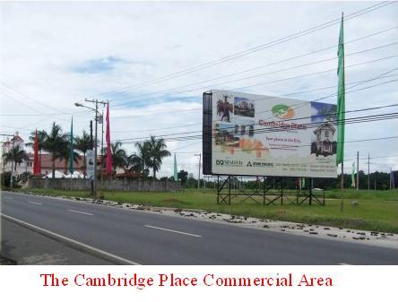 Cambridge Place. commercial area