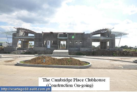Cambridge Place- Clubhouse (w/  on-going construction