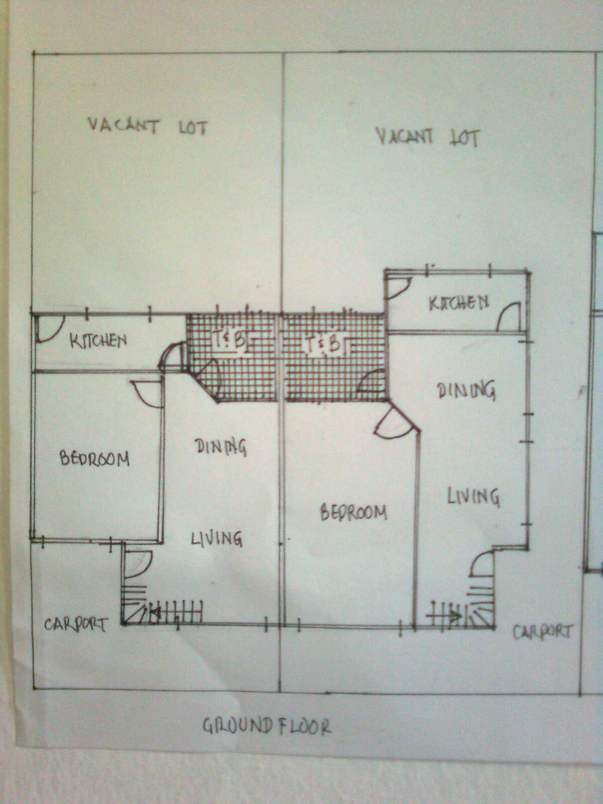 floor plan -grondfloor
