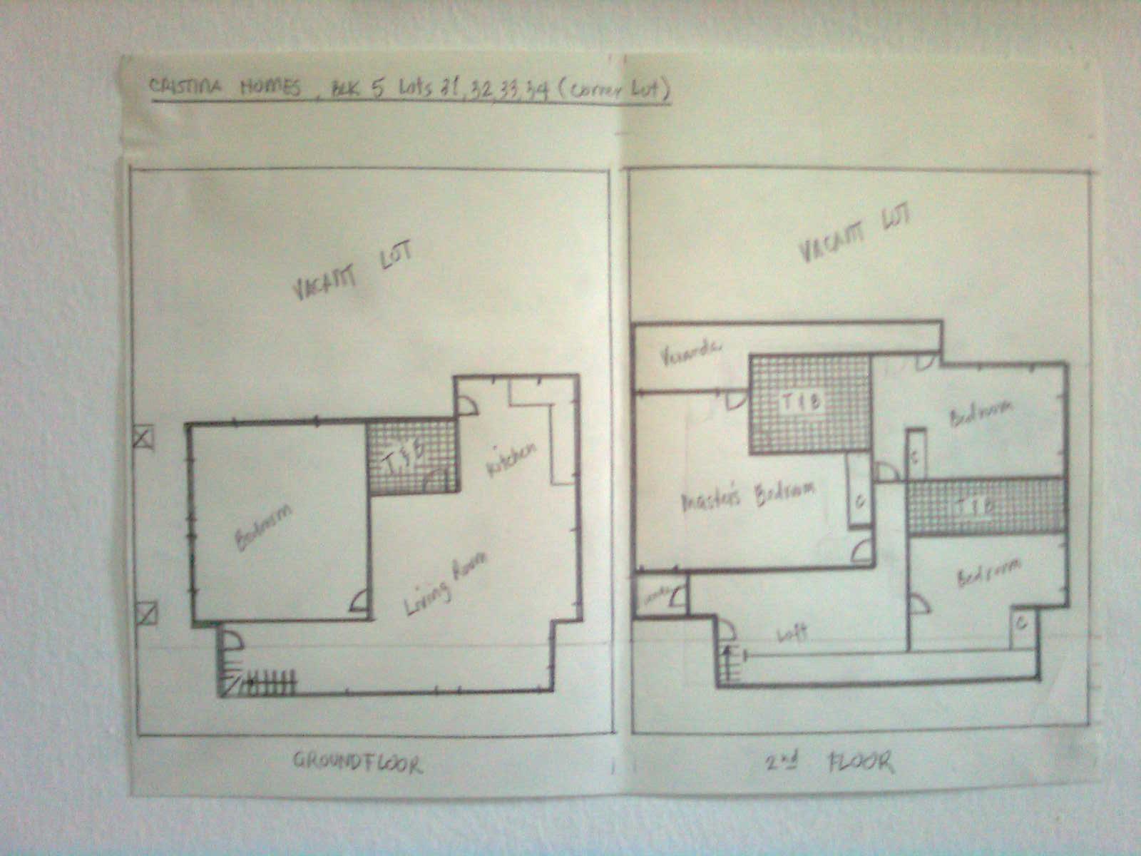 floor plan (ground & 2nd floors)