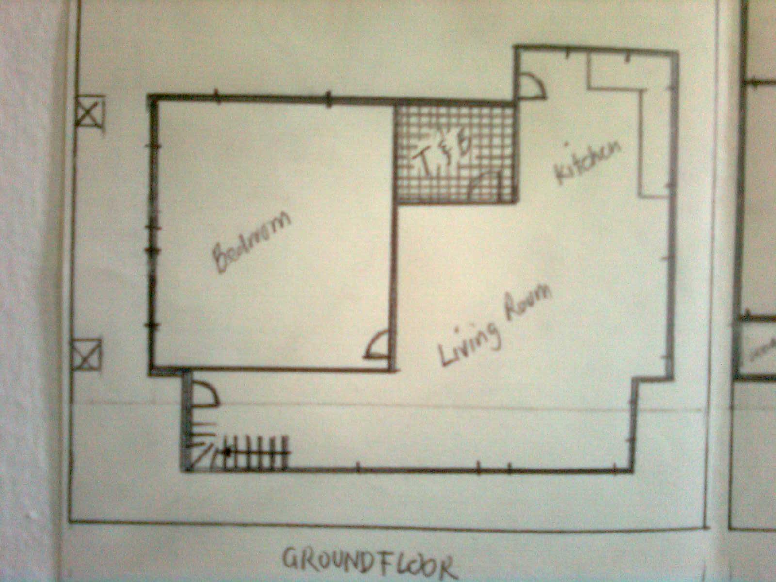 floor plan - groundfloor