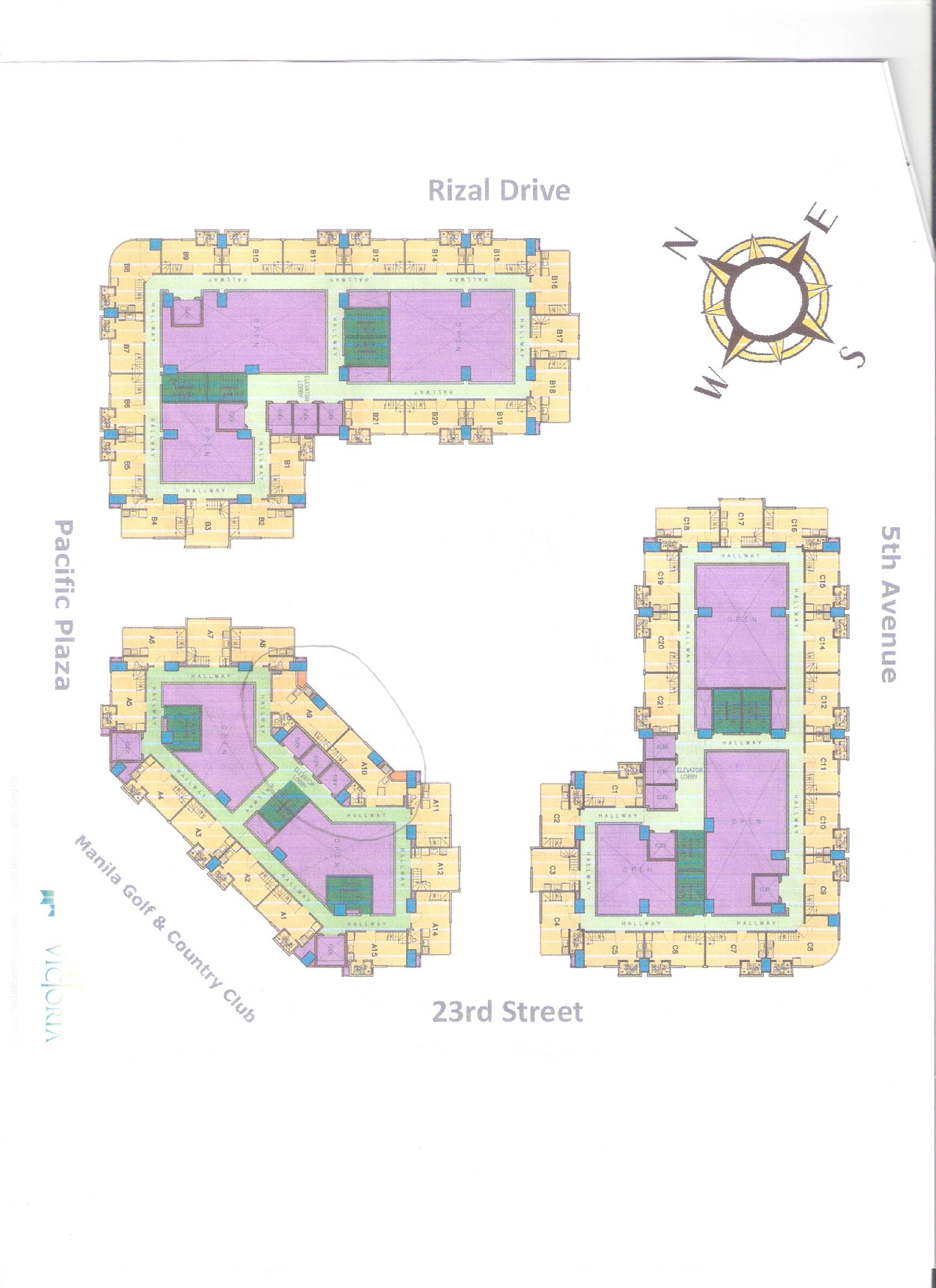 Fort Victoria Floor Plan