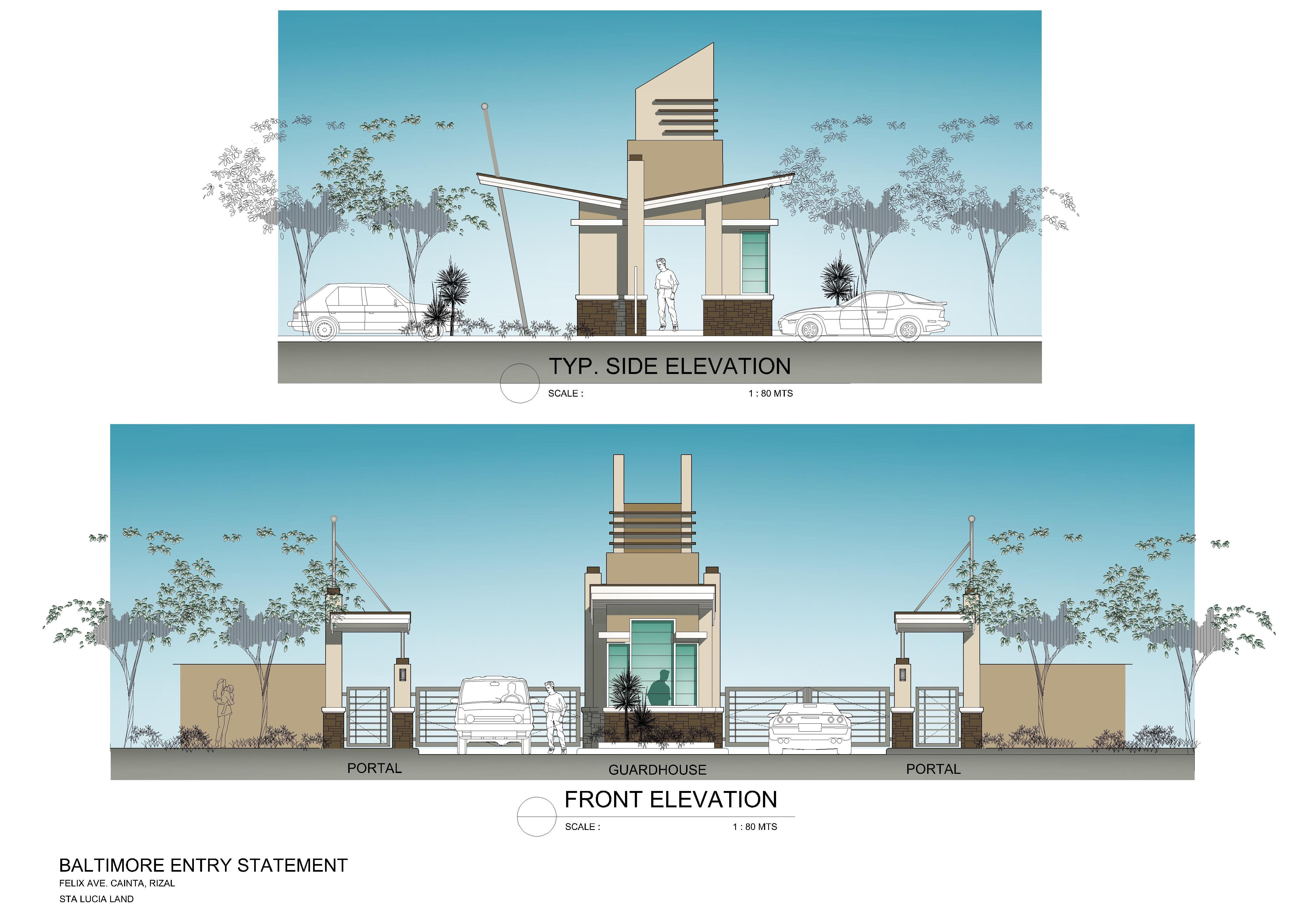 Site Gate Plan