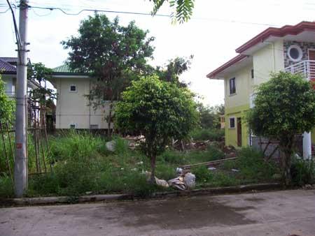 adjacent lot