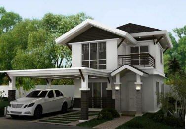 MAHOGANY MODEL HOUSE