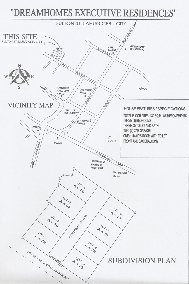 FULTON VICINITY MAP