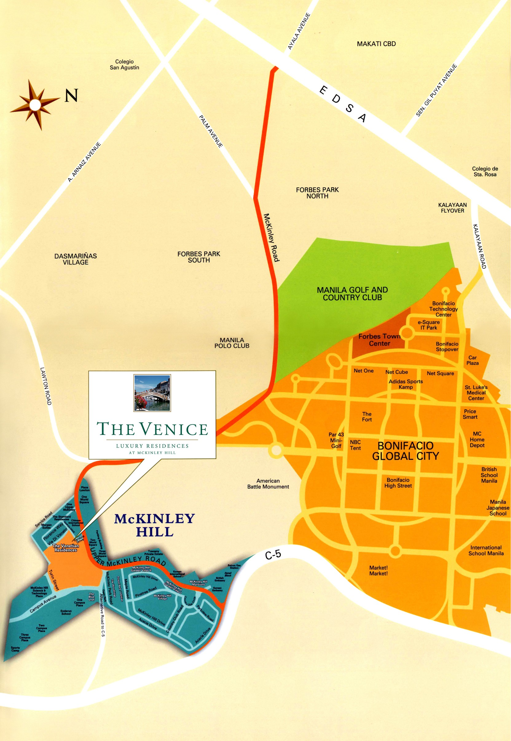 Venice Residences at Mckinley Hill