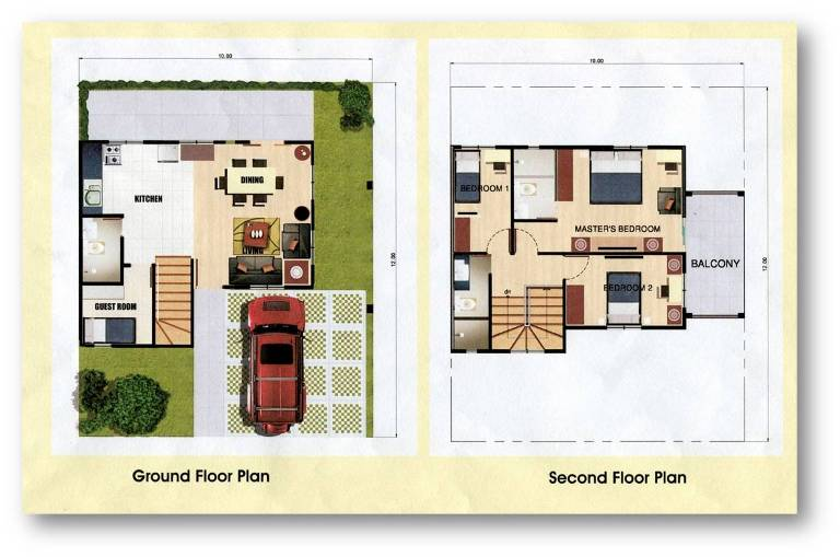 House And Lot For Sale In Cavite Alexandra Single Attached Model For Sale House
