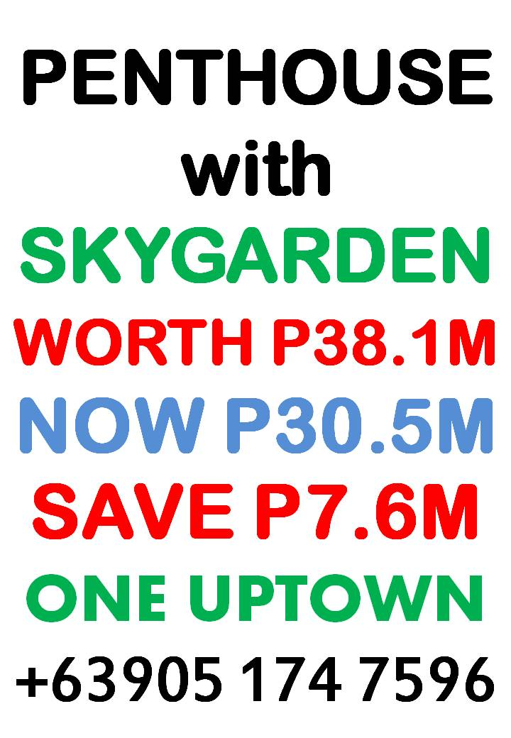 One Uptown Residence - Upscale Lifestyle at Uptown Bonifacio Global City