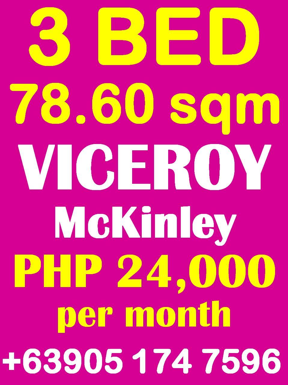 Viceroy McKinley Hill - 3 Bedroom