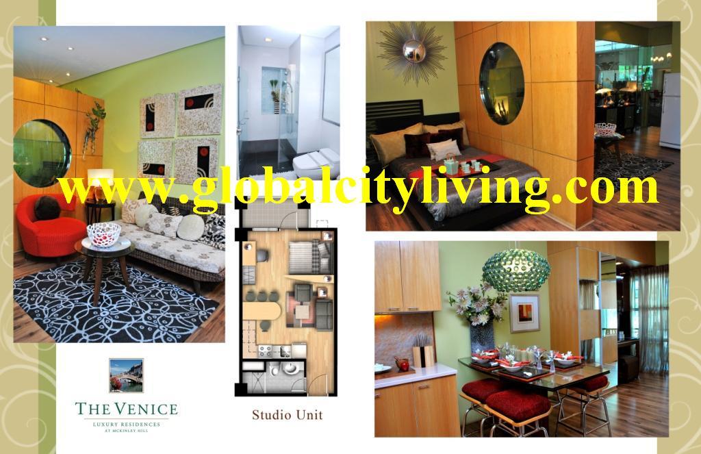 Studio unit Venice Mckinley Hill