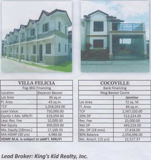 Coco Ville and Villa Arsenia