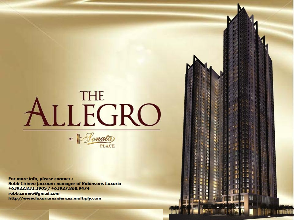 The Allegro at Sonata Place