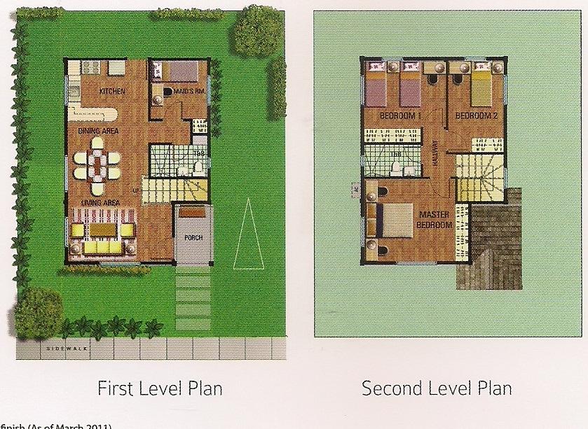 Emellee - Floor Plans