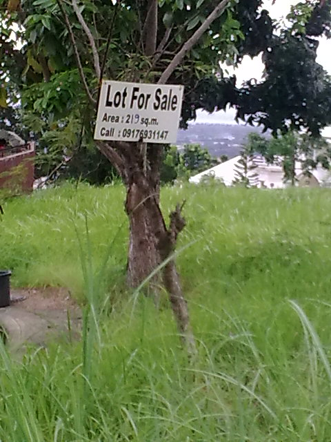 LOT FOR SALE SIGN BOARD