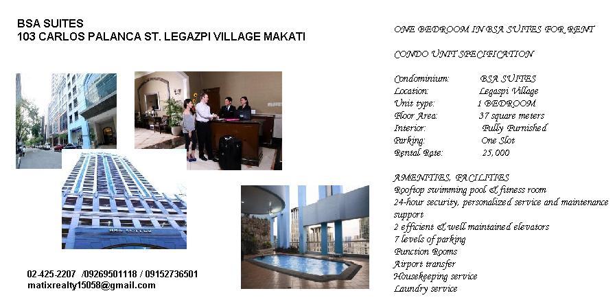 FOR SALE: Apartment / Condo / Townhouse Manila Metropolitan Area > Makati