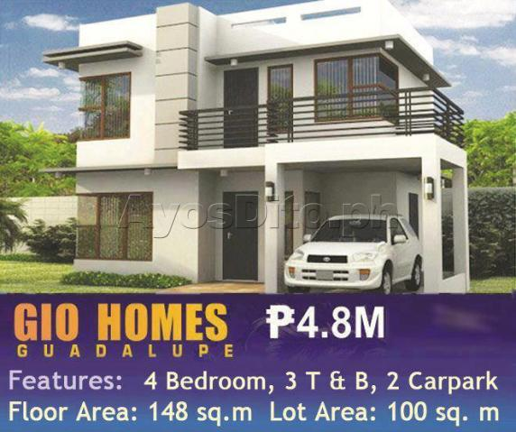 House & Lot @ Gio Homes single Detached, nice location is at the center of cebu city,.