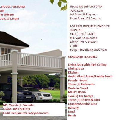 VICTORIA MODEL HOUSE